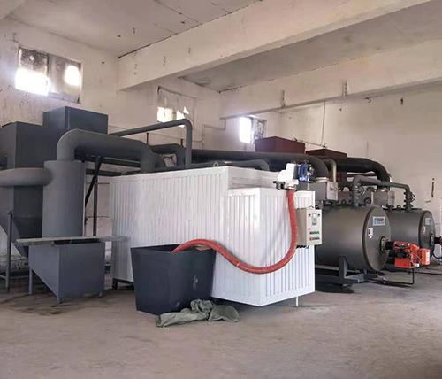 韩伟集团养鸡厂3吨生物质锅炉