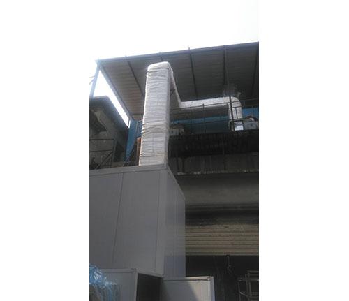 鞍山生物质热风锅炉